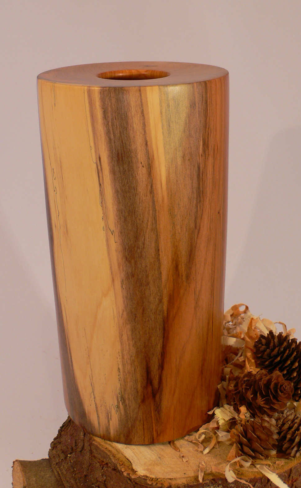 Wood art by Chris Rymer of Inside Out Wood Art made from - Yew