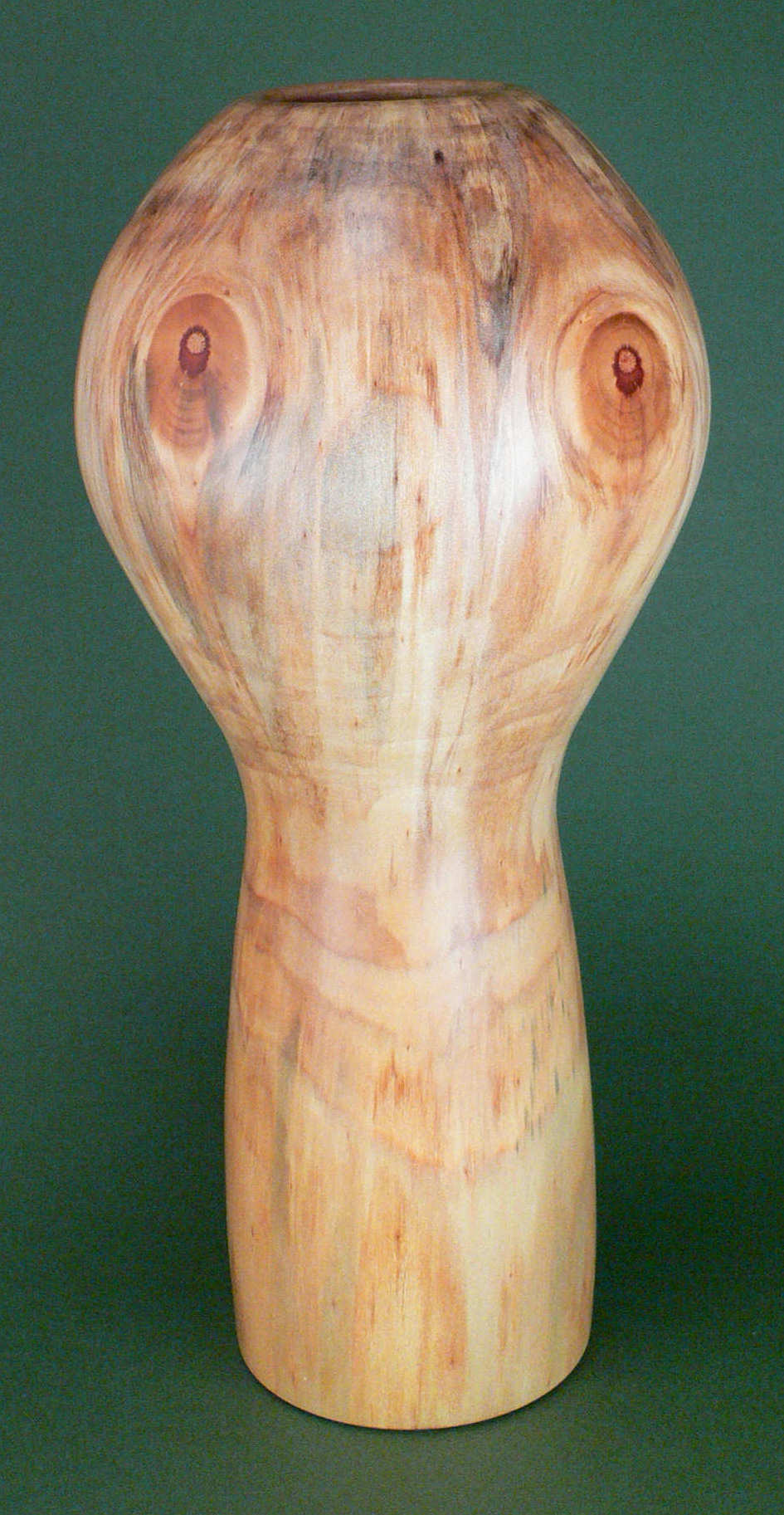 Image showing an example of a monkey puzzle hollow form vessel