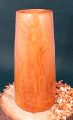 Wood art by Chris Rymer of Inside Out Wood Art made from - Eucalyptus