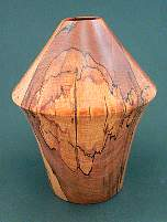 Image of an Beech hollow vessel made by Chris Rymer of Inside Out Wood Art